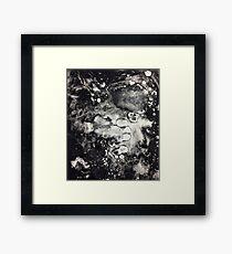 Monoprint Mess Framed Print