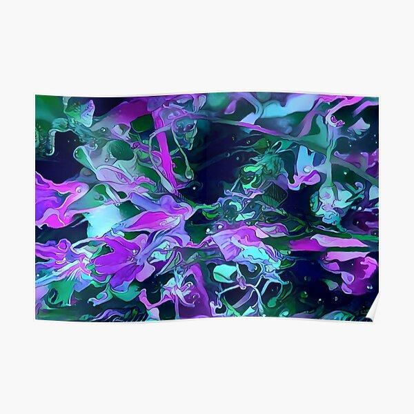 Dark flowers Poster