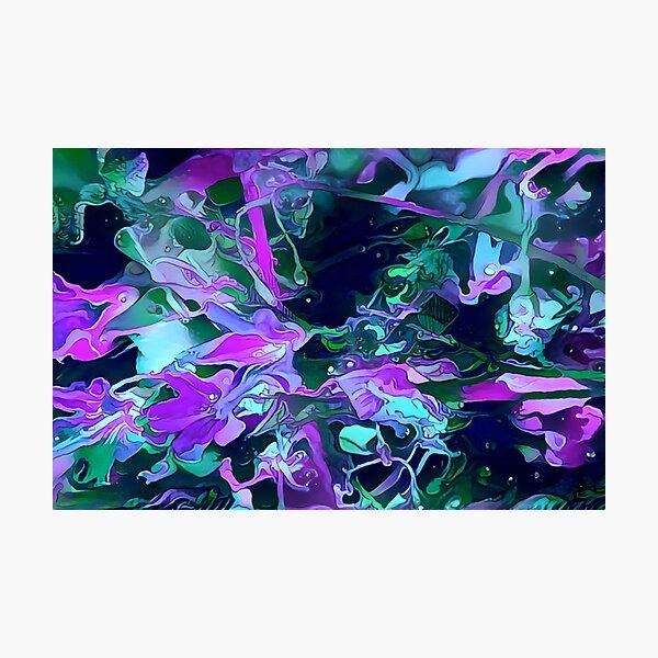 Dark flowers Photographic Print
