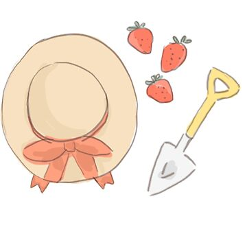 Erdbeergarten von HaleyInk