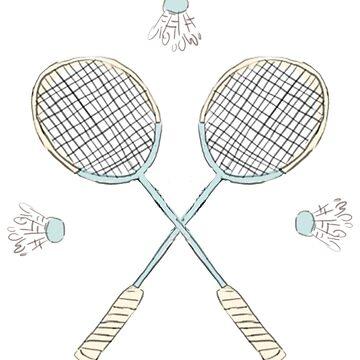 Badminton von HaleyInk