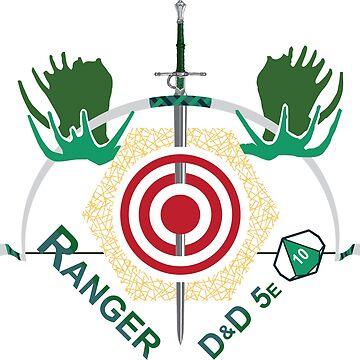 D&D Classes: RANGER by 3DApparel