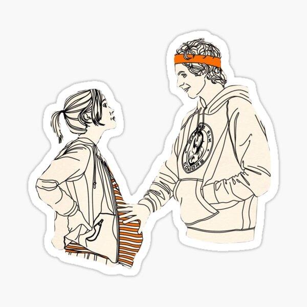 Juno and Paulie Sticker