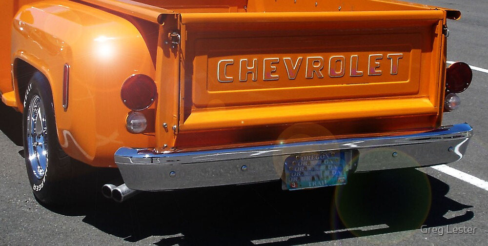 Chevy Step-side by Greg Lester