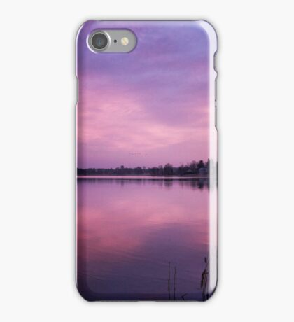 Dawn flight iPhone Case/Skin