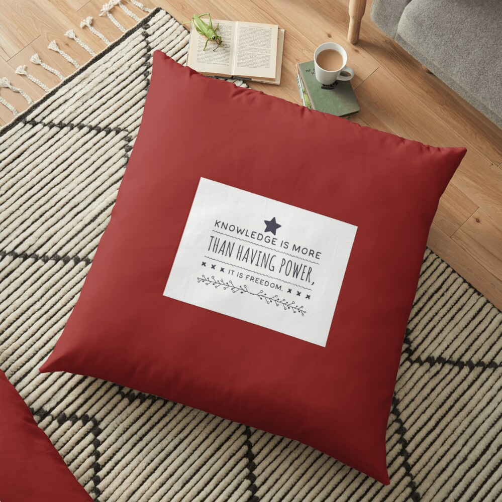 Model Me VIP Limited Edition Floor Pillow