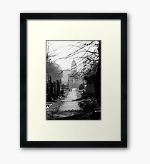 Brompton Cemetery Framed Print