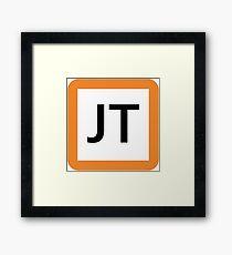 JT / 東海道線ロゴ-Tokaido Line logo- Framed Print