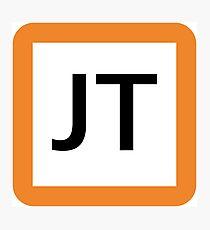 JT / 東海道線ロゴ-Tokaido Line logo- Photographic Print