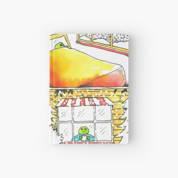 Snow Day Hardcover Journal