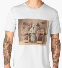 Japanese flower seller Men's Premium T-Shirt