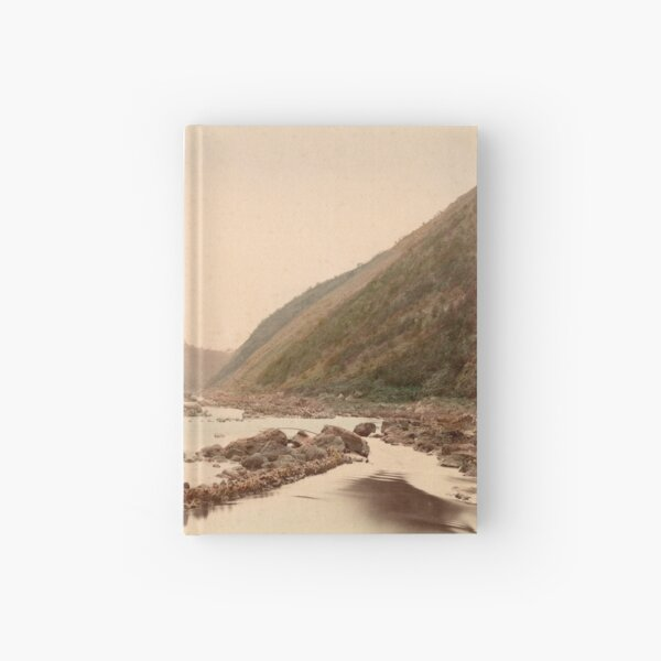 View of rapids, Kyoto Hardcover Journal