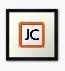 JC / 中央本線及び直通2路線 中央線快速・青梅線・五日市線-Chuo Line and direct dial 2 line Chūō Line, Ome Line, Itsukaichi Line- Framed Print