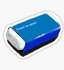 Eraser Sticker