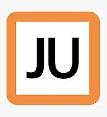JU / 宇都宮線(東北本線)・高崎線-Utsunomiya line (Tohoku), Takasaki Line- Photographic Print