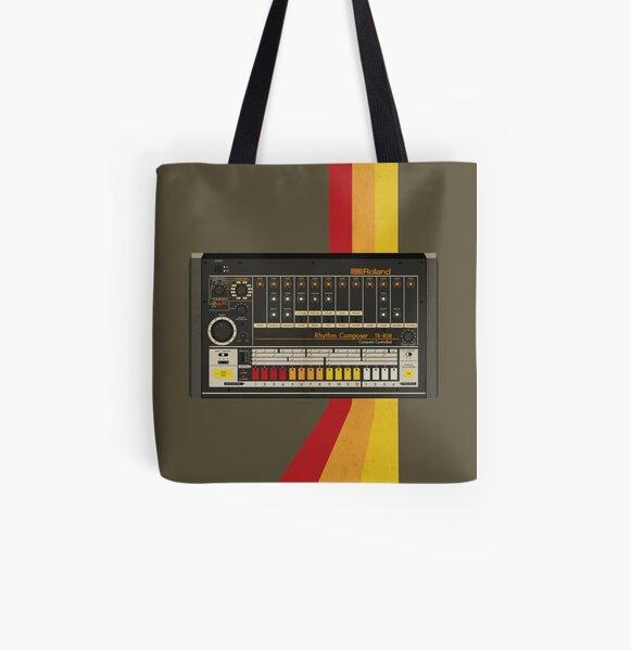 TR-808 All Over Print Tote Bag