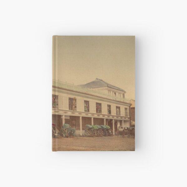 Jinpuro Brothel, Yokohama, Japan, 1890s Hardcover Journal