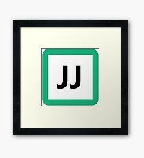 JJ / 常磐線快速-Joban Line Rapid- Framed Print