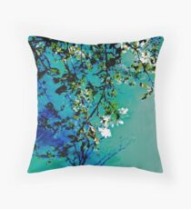 Spring Synthesis IIV Throw Pillow