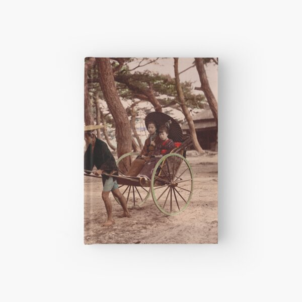 Jinrikisha - Meiji Japan Hardcover Journal