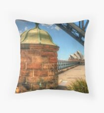 Location, location, location !! Throw Pillow