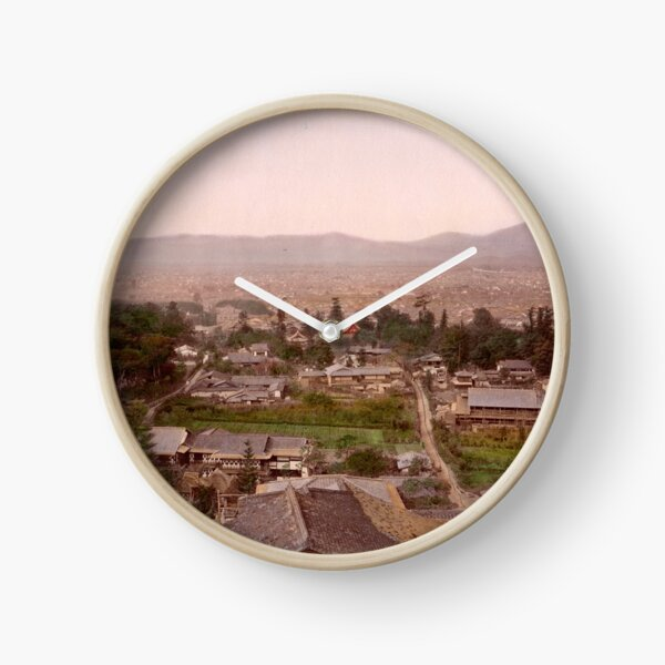 Kyoto, Meiji Period, Japan Clock