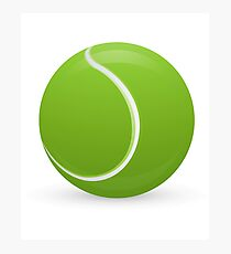 Tennis Ball Fotodruck
