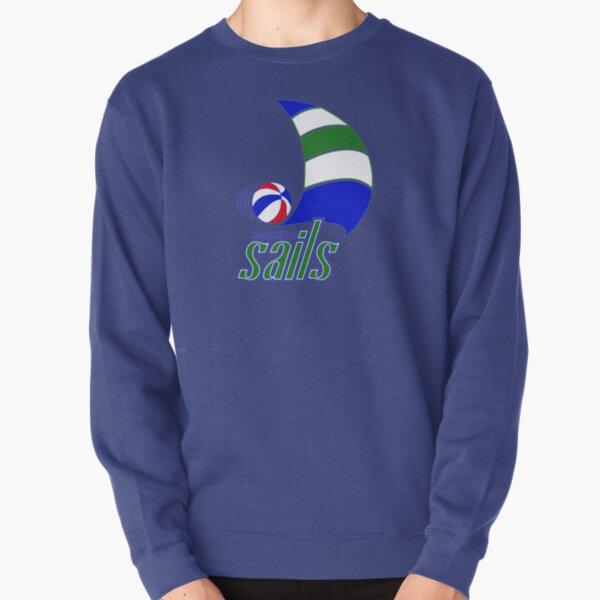 SAIL - VINTAGE BASKETBALL Pullover Sweatshirt