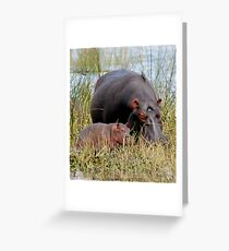 Mother & Baby Greeting Card