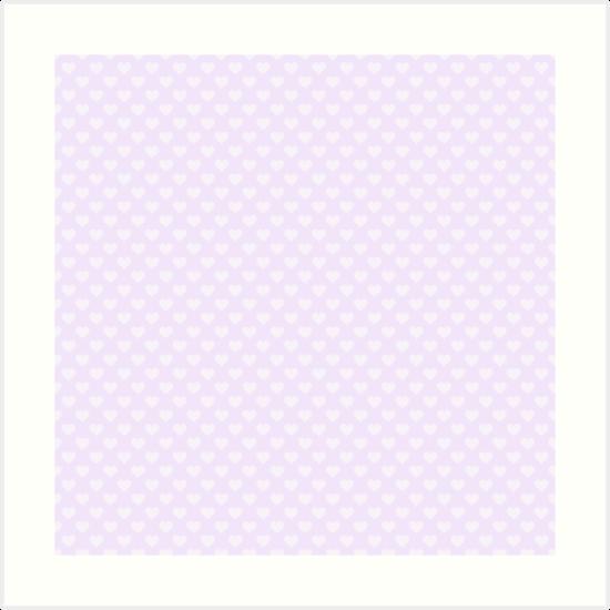 Laminas Artisticas Corazones Grandes En Suave Color Lila Pastel De - Color-lila-pastel