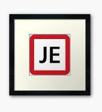 JE / 京葉線-Keiyo Line- Framed Print