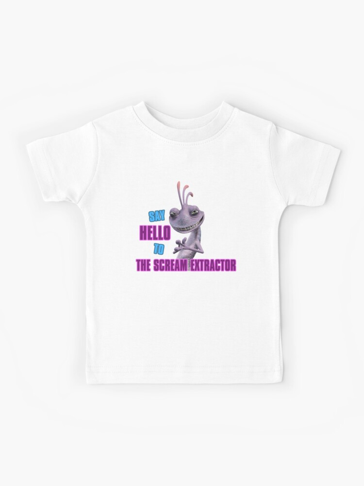 Randall From Monsters Inc Kids T Shirt By Normanlikescats Redbubble