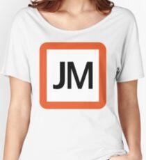 JM / 武蔵野線-Musashino Line- Women's Relaxed Fit T-Shirt