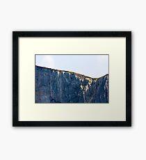 The Solitary Hiker Framed Print