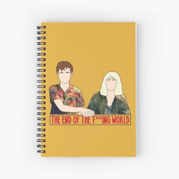 James & Alyssa Spiral Notebook
