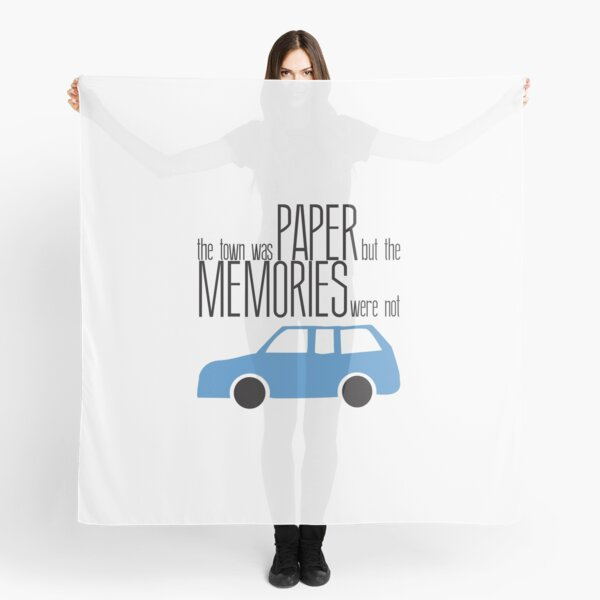 The Town was Paper, The memories were Not Scarf