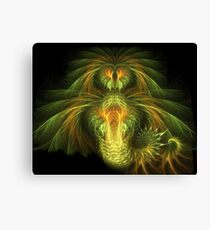 Falkor the Luck Dragon Canvas Print