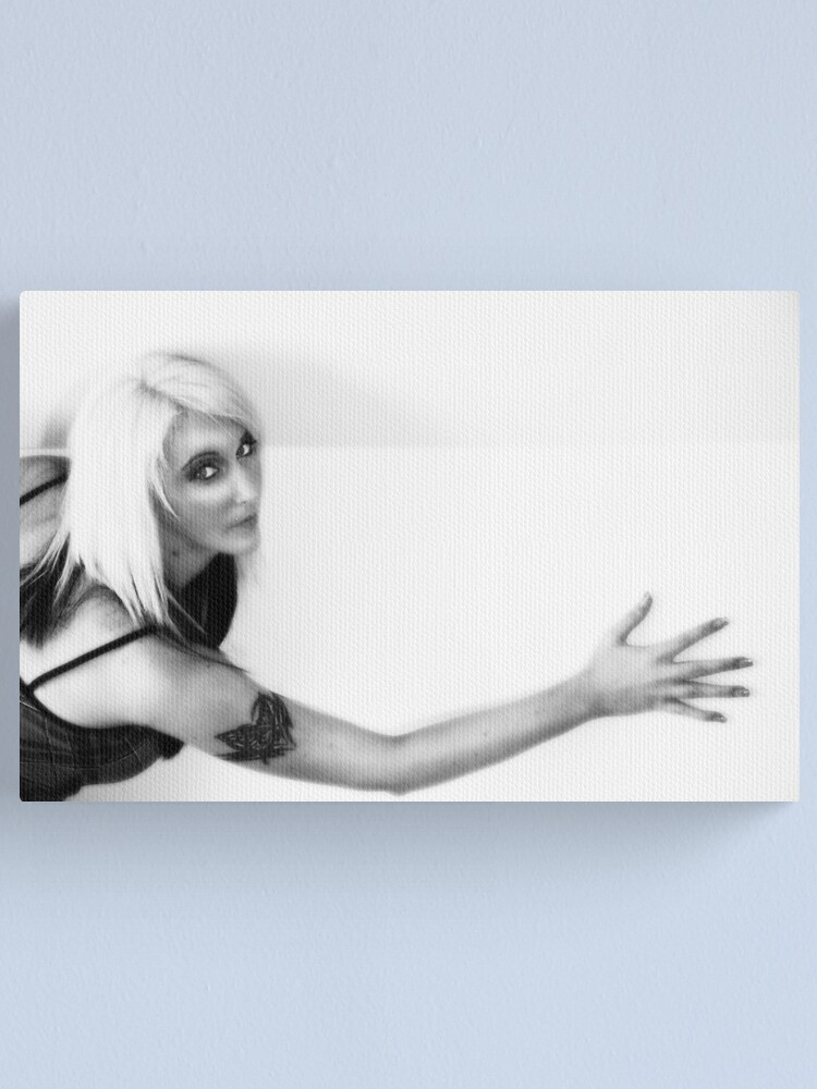 Alternate view of White wall Canvas Print