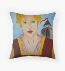 Richard I. Plantagenet Throw Pillow