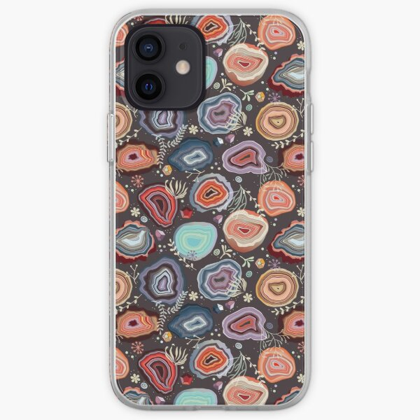 Colorful agates iPhone Soft Case