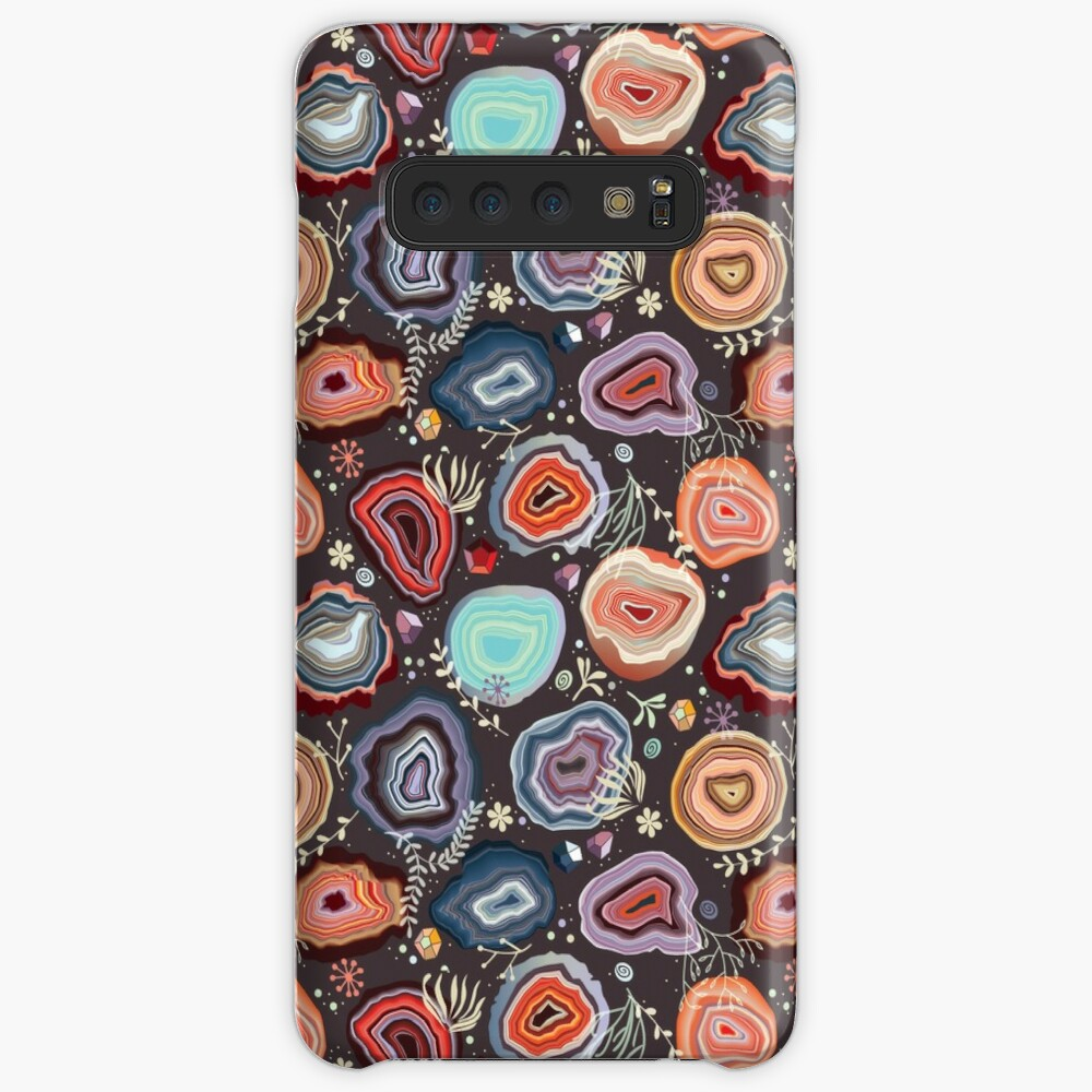 Colorful agates Case & Skin for Samsung Galaxy