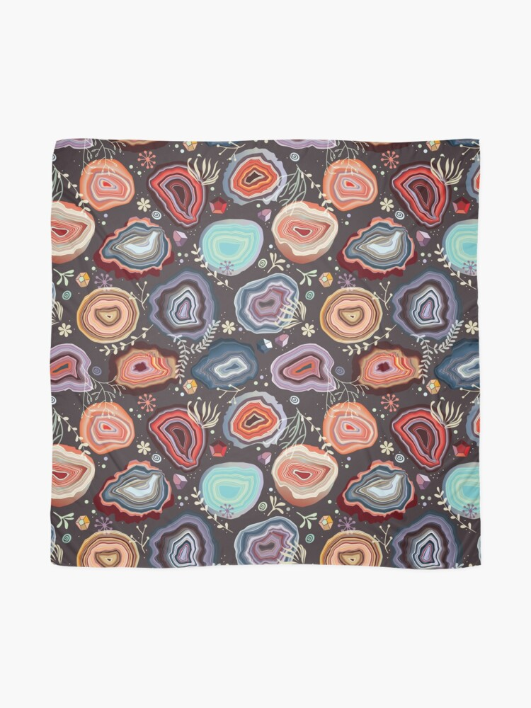 Alternate view of  Colorful agates Scarf