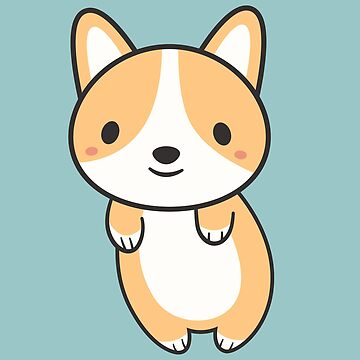 Kawaii Cute Adorable Corgi Dog  by happinessinatee