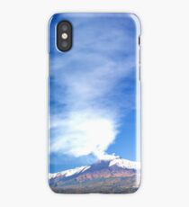 Etna Blowing  iPhone Case/Skin