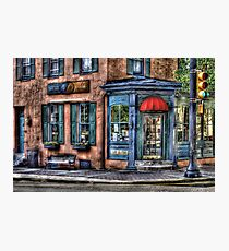 Cafe America Photographic Print
