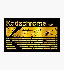 kodachrome Photographic Print