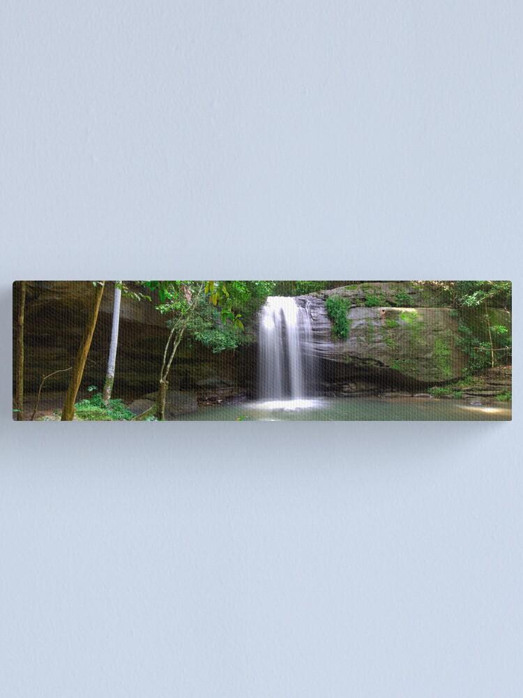 Alternate view of Serenity Falls Canvas Print