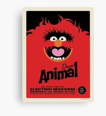 The Muppets - Animal Canvas Print