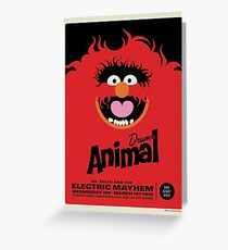 The Muppets - Animal Greeting Card