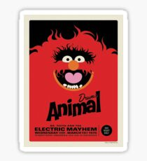 The Muppets - Animal Sticker